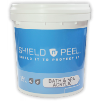 Shield n Peel for Bath & Spa (Acrylic) 15L