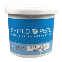 Shield n Peel for Bath & Spa (Acrylic) 4L